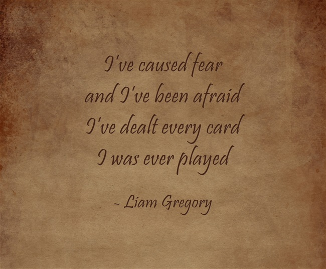 truth quote by Liam Gregory from eBook Footsteps